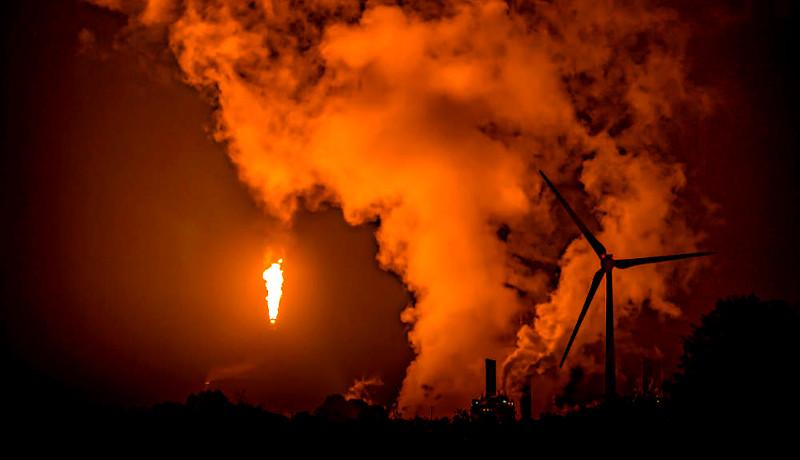 فلر نفت توربین بادی