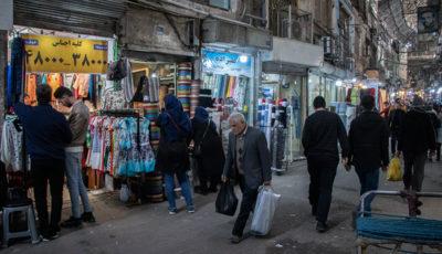 راسته پوشاک بازار بزرگ تهران در ماههای پایانی سال (گزارش تصویری)