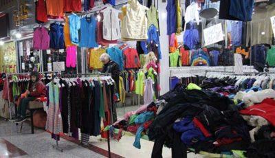 بازار داغ لباسهای دست دوم در شب عید