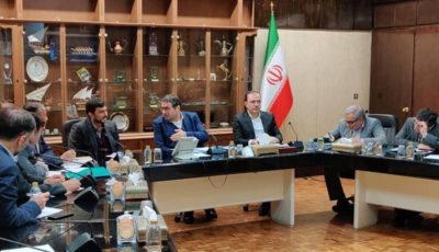 برگزاری جلسه ستاد مقابله با کرونا در وزارت صمت