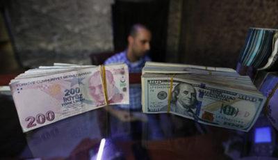 سقوط نرخ برابری لیر ترکیه