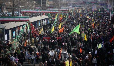 اعلام تمهیدات ترافیکی مراسم ۲۲ بهمن در تهران