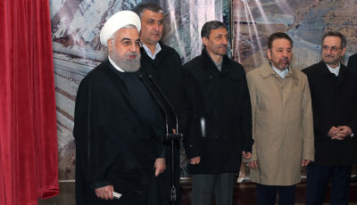 بازدید حسن روحانی از منطقه یک آزادراه تهران_شمال (گزارش تصویری)