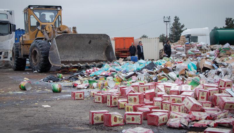 سرنوشت کالاهای قاچاق مکشوف چه میشود؟ (گزارش تصویری)