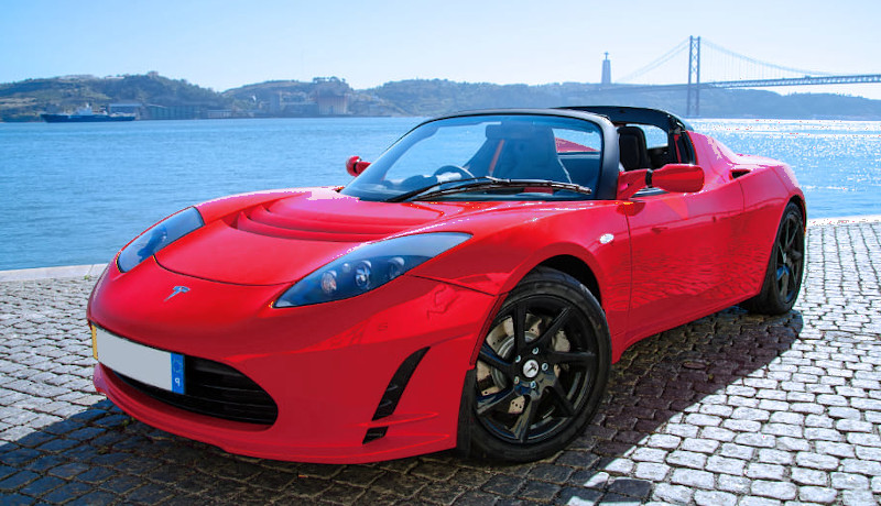 Tesla Roadster first model