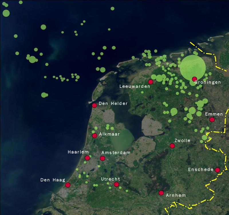 میدانهای گازی هلند