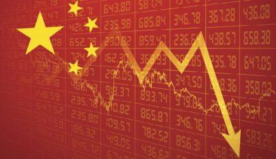 بدترین عملکرد بازار سهام چین در 12 سال گذشته / شانگهای کامپوزیت 9 درصد افت کرد