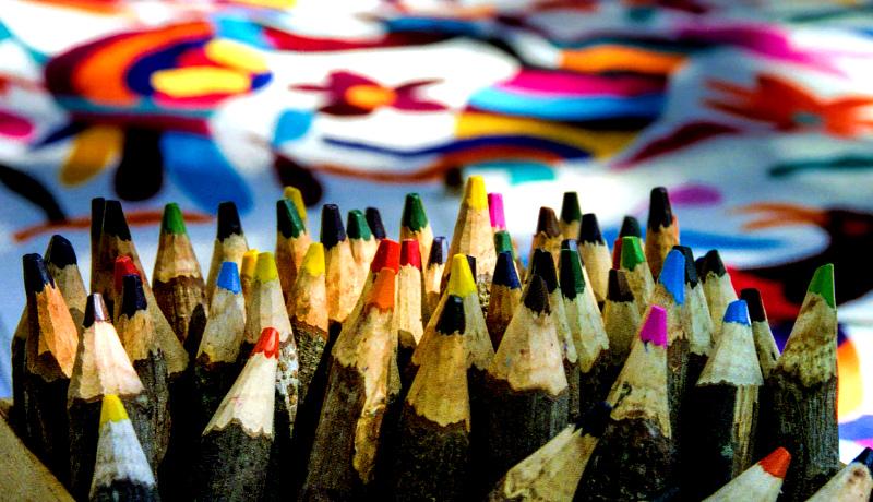 مدادهای رنگی گزینههای زیاد