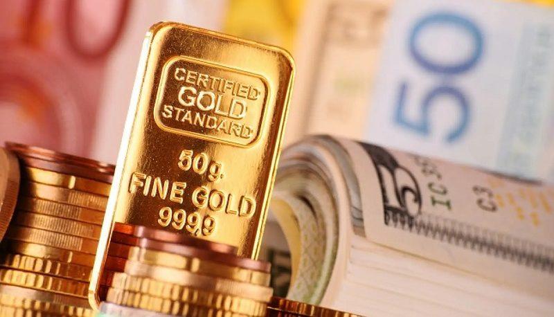 افت بیسابقه یورو در برابر دلار / طلا ۰٫۳ درصد رشد کرد