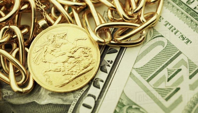بدترین عملکرد هفتگی دلار در 4 سال / طلا بیش از 4 درصد رشد کرد