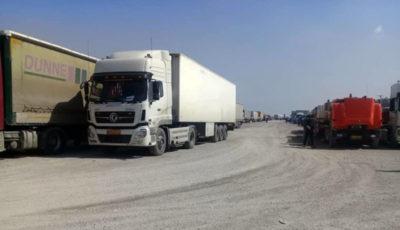 ۱۵۰۰ کامیون در مرز سومار متوقف شدند