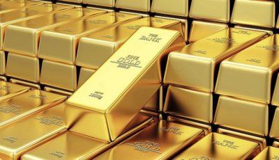 قیمت طلا در بالاترین رقم یک ماه گذشته