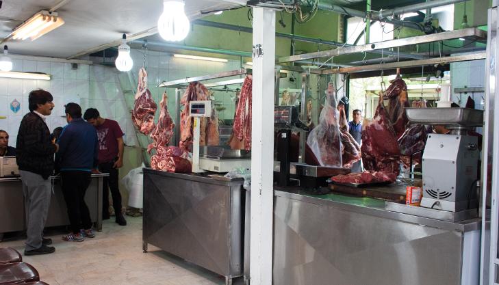 کرونا مصرف گوشت قرمز را ۴۰ درصد کاهش داد