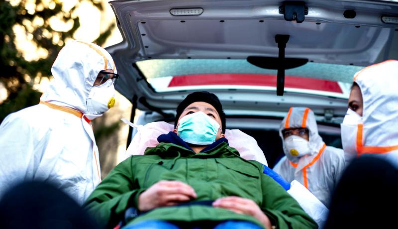 بیمار ویروس کرونا چین