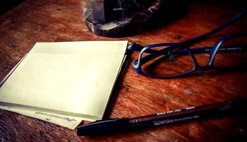 عینک خودکار دفترچه یادداشت