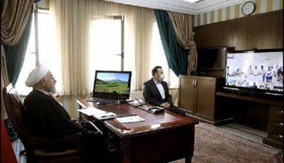 گفتگوی روحانی با سه استاندار و روسای چند بیمارستان