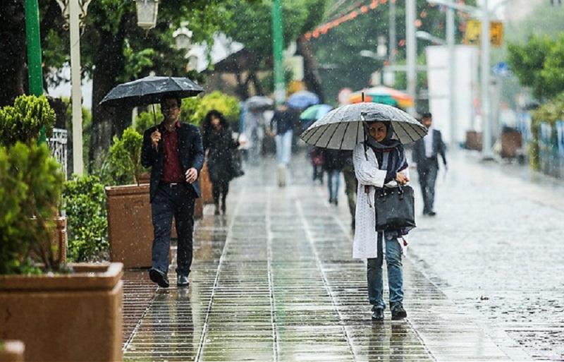 پیشبینی آخرین وضعیت جوی در کشور /  ورود سامانه بارشی از ۱۰ اردیبهشت ماه