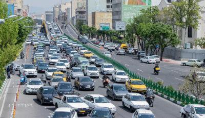 ترافیک عجیب تهران در روز شنبه (گزارش تصویری)