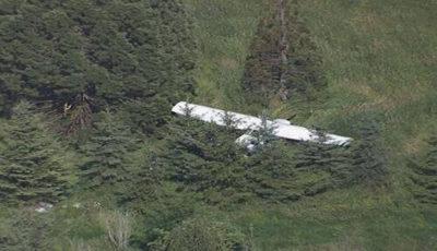 سقوط هواپیمای آموزشی در سلمانشهر / هر ۲ سرنشین به شهادت رسیدند