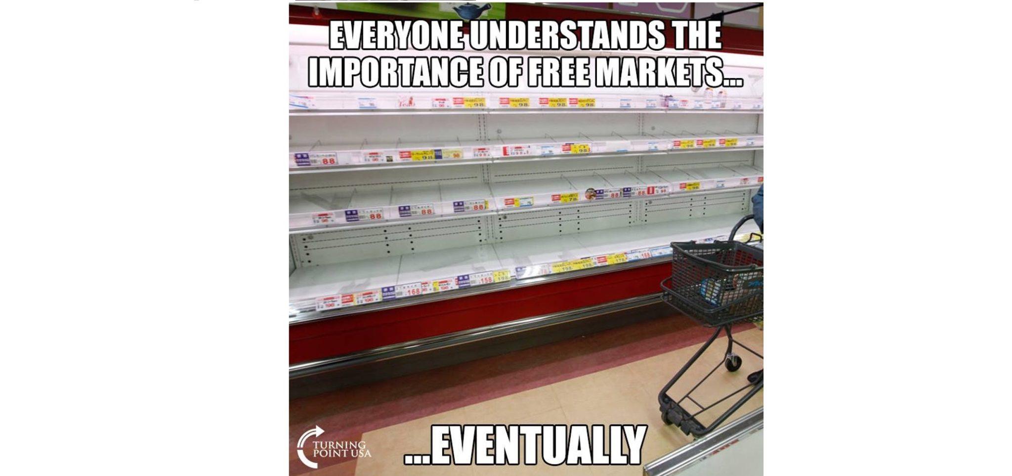 خالی شدن سوپرمارکتها