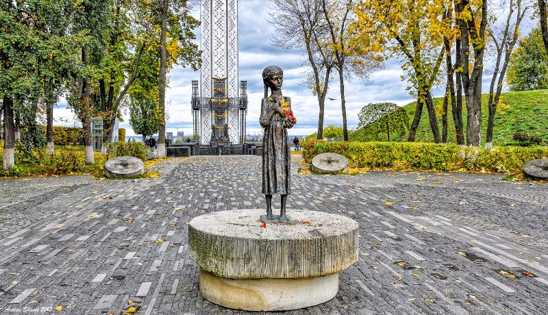 یادبود قحطی عمدی اوکراین ۱۹۳۲ و ۱۹۳۳
