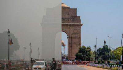 بهبود کیفیت هوا پس از شیوع ویروس کرونا