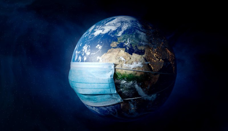 کره زمین ماسک