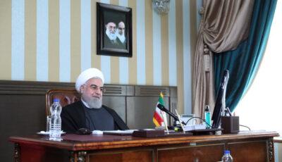 حاشیههای یک افتتاح آنلاین/تصاویر عجیب در ویدئو کنفرانس رئیسجمهور/هدیه تازه وزارت ارتباطات به کاربران