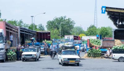 آخرین وضعیت بازار میوه و ترهبار تهران به روایت یک گزارش تصویری