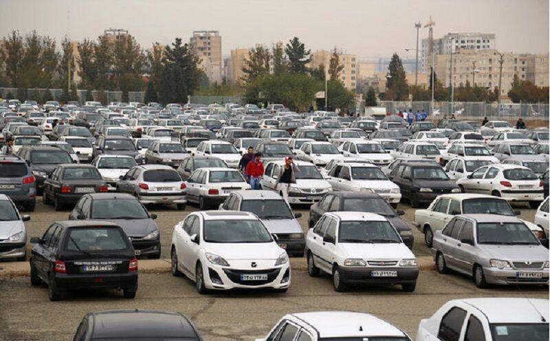 کشف انبار خودروهای بدون پلاک در غرب تهران