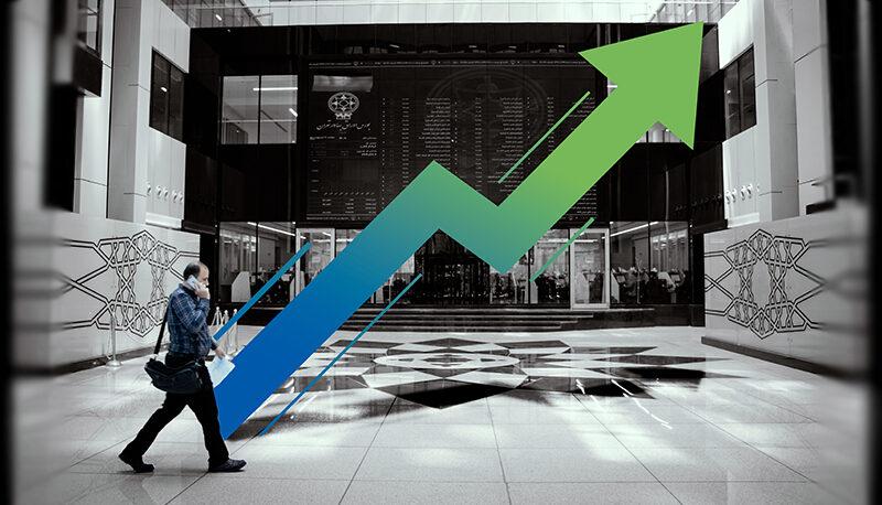 جهش ۳۵ هزار واحدی شاخص کل در یک روز / سهامداران ۳٫۷۲ درصد سود کردند