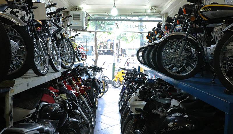قیمت انواع موتورسیکلت در امروز ۹۹/۳/۱۰