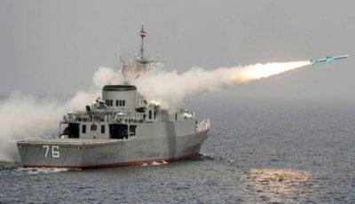 اخبار تایید نشده از شلیک اشتباهی موشک به یک ناوچه ارتش در خلیج فارس و شهادت جمعی از پرسنل آن