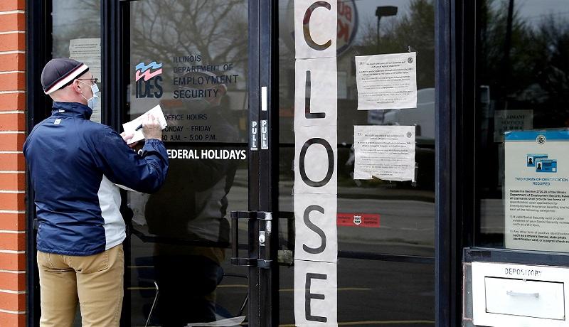 نرخ بیکاری در آمریکا به بالاترین سطح از جنگ جهانی دوم رسید