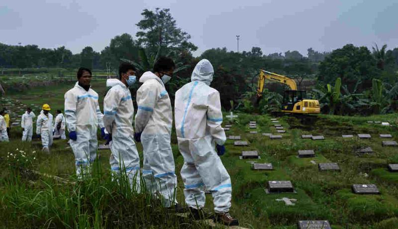 قبرستان ویروس کرونا کلمبیا
