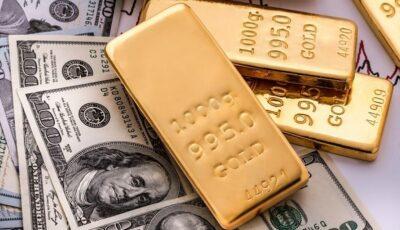 اولین قیمت دلار و طلا در هفته جدید میلادی / فلز زرد اندکی کاهش یافت