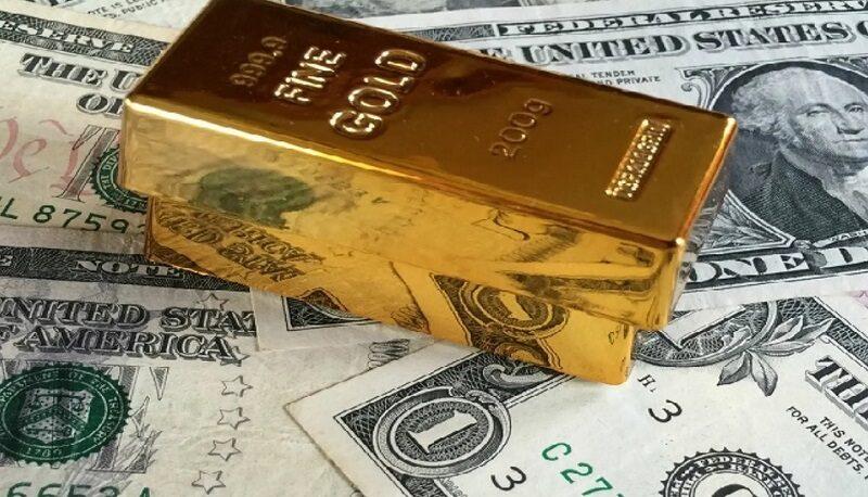 رشد دلار و افت طلا در معاملات چهارشنبه / چرا فلز زرد افت کرد؟