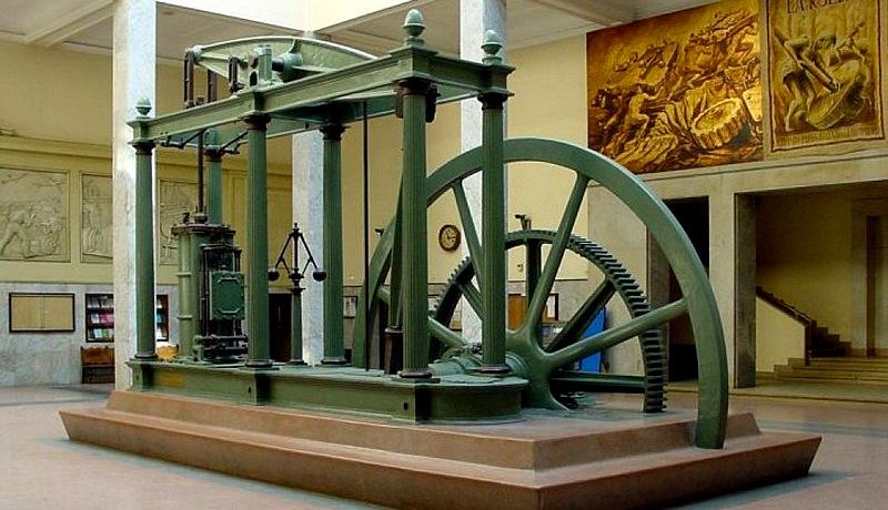 مدل موتور بخار جیمز وات