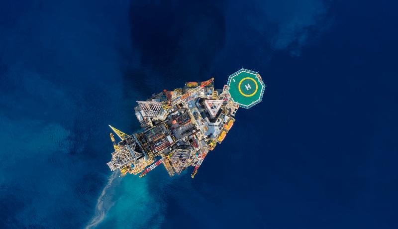 سکوی نفتی دریایی