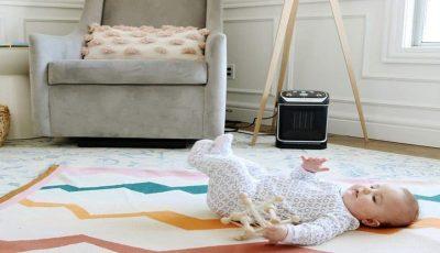 بهترین راهها برای گرم کردن اتاق کودک در زمستان + نکات احتیاطی