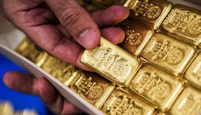 قیمت طلا جهانی نیز همانند نفت کاهش یافت