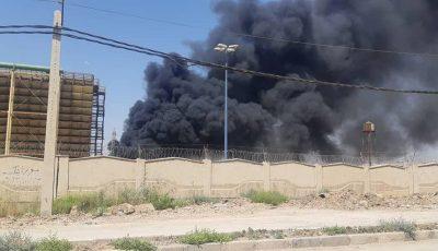 وقوع انفجار در نیروگاه شهید مدحج اهواز