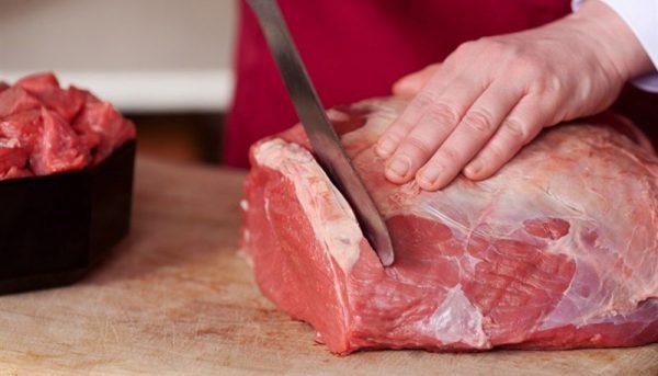 قیمت گوشت قرمز در بازار چند است؟