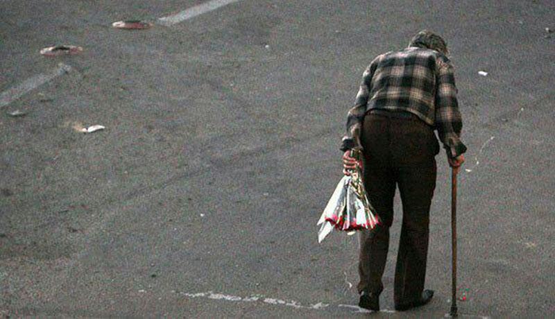 پیرمرد گلفروش