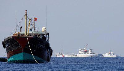 فعالیت کشتیهای چینی در آبهای جنوب کشور