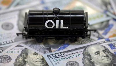 افزایش قیمت نفت به ۶۵ دلار
