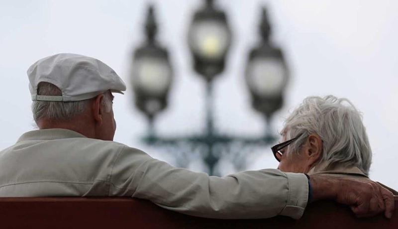 پیرمرد و پیرزن