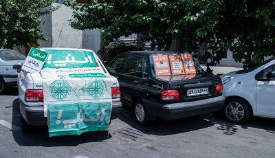 ادامه ثبتنام رانندگان اسنپ و تپسی در خیابان +گزارش تصویری