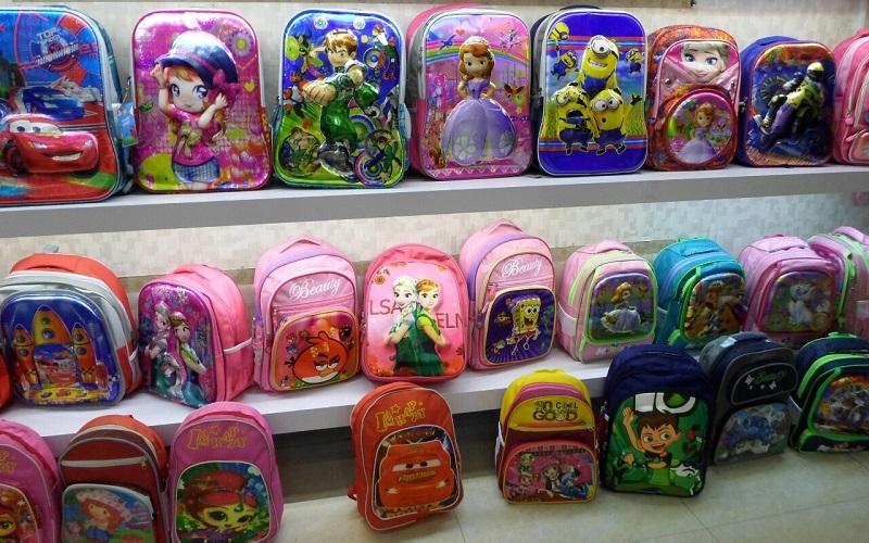 آخرین قیمت کیف مدرسه