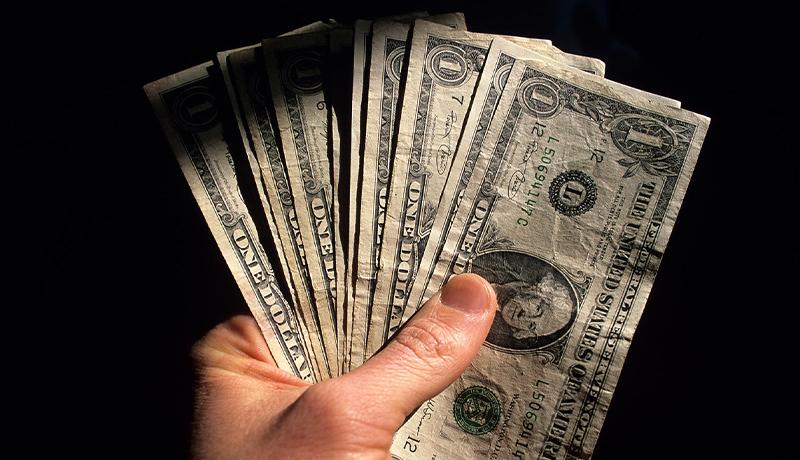 آخرین قیمت دلار تا پیش از امروز ۳۰ دی ۹۹ چقدر بود؟